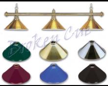 Halterung mit messing Leuchtenschirmen (Beispiel)